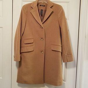 Caramel coloredWool Ralph Lauren Coat